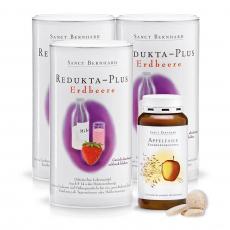레둑타 - 플러스 딸기 x3 + 사과 섬유 정제